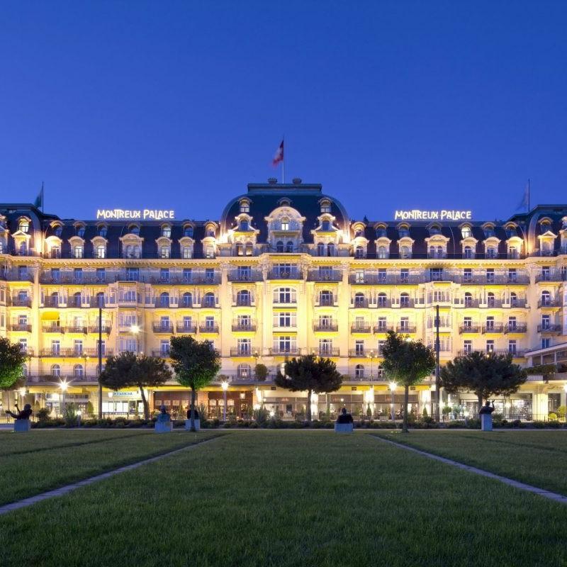 Fairmont Montreux Palace Switzerland hotel asset management